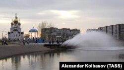 Абакан, вид города, иллюстративное фото