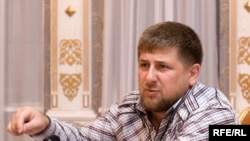 'The wildest violence in the world takes place in the West,' says Chechen leader Ramzan Kadyrov, pictured here at his residence in Gudermes, outside Grozny.