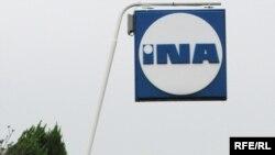 Logo kompanije INA
