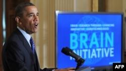 Obama BRAİN planını açıqlayır, 2 aprel 2013