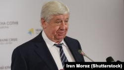 Ukrainian Prosecutor-General Viktor Shokin (file photo)