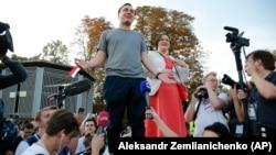 Ivan Jdanov la protestul din 27 iulie