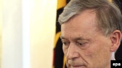 Președintele demisionar Horst Koehler