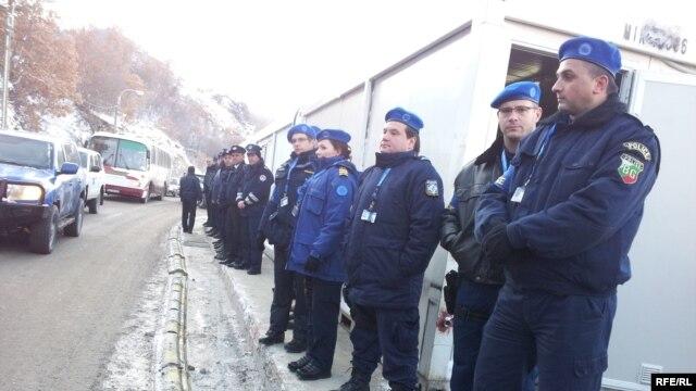 Granica, Jarinje, decembar 2012.