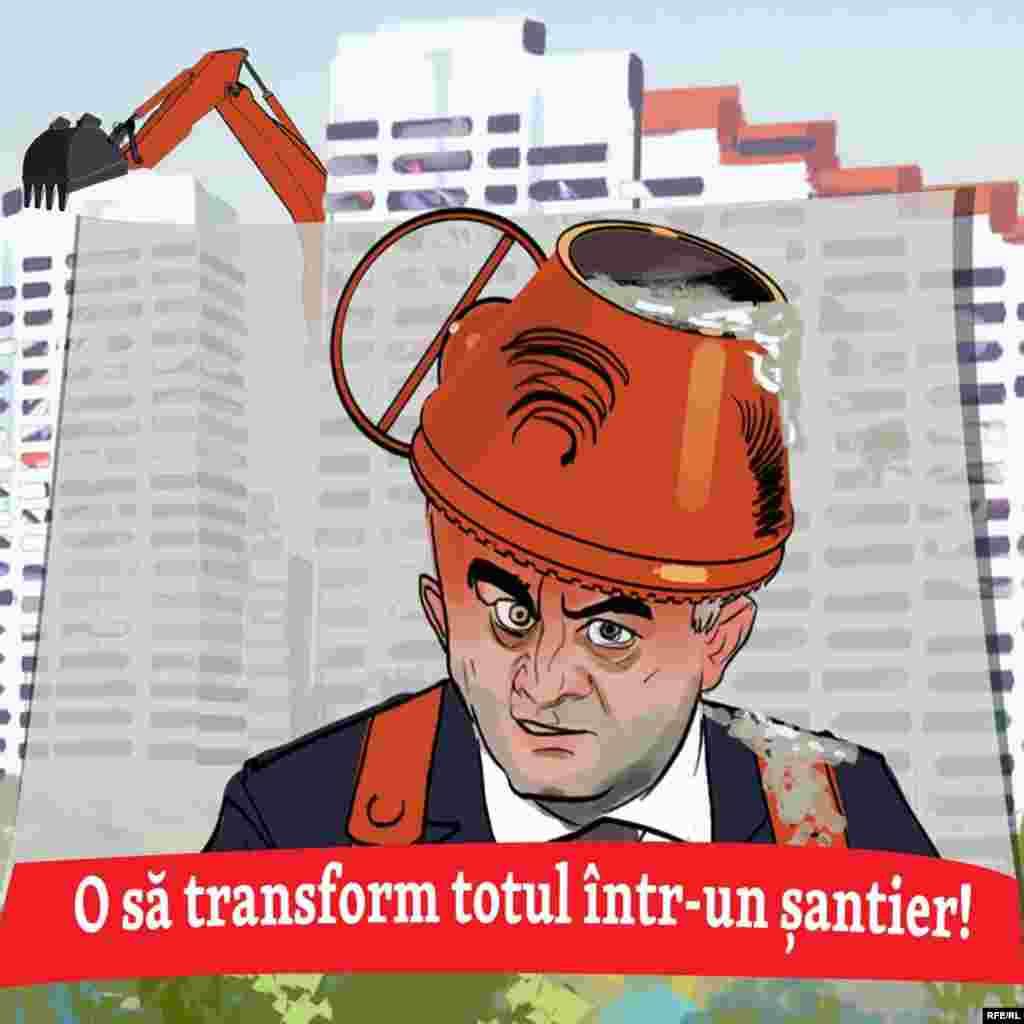 Promisiunea primului ministru că o să facă din R. Moldova un șantier ascunde ceva profund personal... Dar ce?