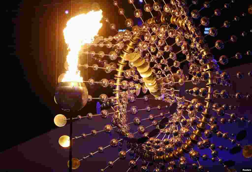 "Огонь Олимпиады Рио будет гореть на стадионе ""Маракана"" до 21 августа."