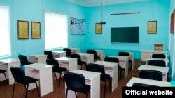 Учебный класс для студентов среднего специального исламского учебного заведения «Саййид Мухйиддин махдум» в Андижане. Фото взято с сайта muslimun.uz.