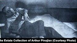 Arthur Pinajian poses (circa 1951)