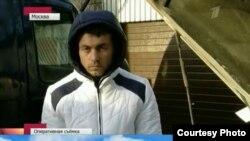 Акс аз шабакаи аввали ТВ Русия