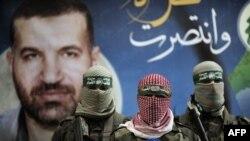 جنگجویان گروه عزالدین القسام، شاخه نظامی حماس.