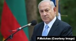 Биньямин Нетаньяху в Литве