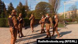 «Муніципальна варта» та «Муніципальна охорона». Київ, Голосіївський парк