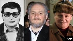 تصویر کارلوس معروف به «شغال» در سه دوره مختلف زمانی- (از چپ) اوایل دهه ۱۹۷۰- هفتم مارس ۲۰۰۱ - ۹ دسامبر ۲۰۱۳.