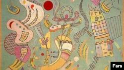 Arxiv foto: Vasily Kandinsky'nin Tehran muzeyində saxlanan əsəri