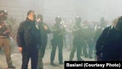 "Спецназ в клубе ""Басиани""."
