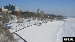 Река Амур на Дальнем Востоке.