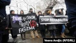Protest, Žene u crnom