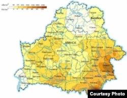 Рэдкія астраўкі на тэрыторыі Беларусі, якія абмінула радыяцыя