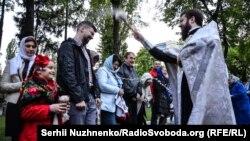 В Киеве отмечают Пасху, 2016 год