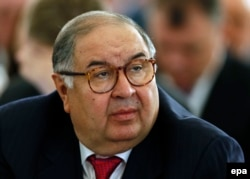 Uzbek-born Russian billionaire Alisher Usmanov (file photo)
