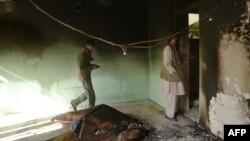 Будинок члена парламенту Афганістану Міра Валі після нападу в Кабулі, 22 грудня 2016 року