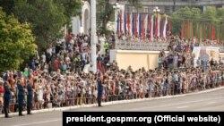 La Parada militară de la Tiraspol, 2 septembrie 2019