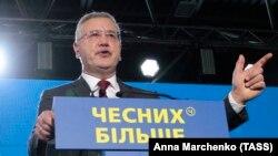 Гриценко подав документи до Центральної виборчої комісії для реєстрації кандидатом у президенти
