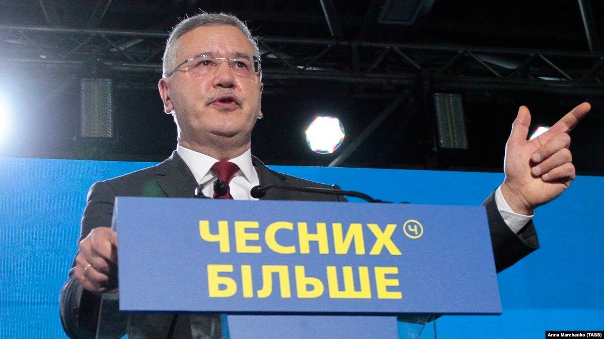 Эксперты оценили шансы Гриценко на президентских выборах