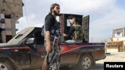 Членовите на сириската ослободителна армија