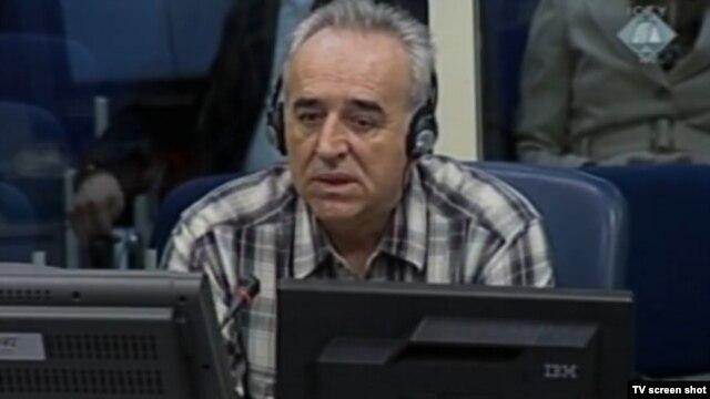 Momir Nikolić tokom svjedočenja 30. svibnja 2013.