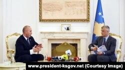 Kryeministri, Ramush Haradinaj dhe presidenti Hashim Thaçi