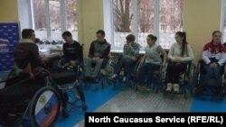 Североосетинские спортсмены-колясочники