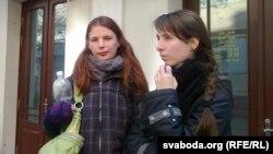 Суд над Максімам Вінярскім. праваабаронца Марыя Касьян, Наста Лойка