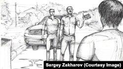 Serhiy Zakharov's New, Grimmer Work