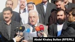 رؤساء 12 عشيرة ايزيدية في مؤتمر صحفي بدهوك