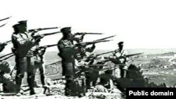 """Кадр из фильма """"Оборона Севастополя"""" (1911)"""