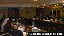 جانب من جلسات مؤتمر البرلمانيات العربيات في عمّان