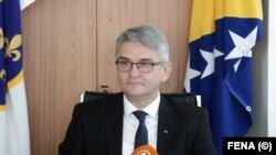 Salko Bukvarević, ministar za pitanja boraca i invalida u Vladi Federacije BiH