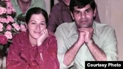 مجید شریف و همسرش، مهشید