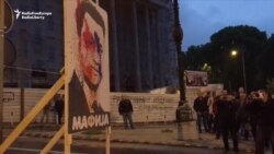 Macedonian Activists Still Going After Month Of Antigovernment Protests