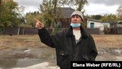 Ғабиден Мұстафин атындағы ауылдың тұрғыны Жалил Миникеев.