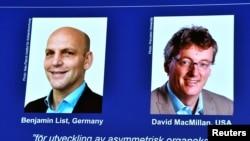 Лауреаты Нобелевской премии по химии 2021 года