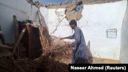 Последствия землетрясения в Пакистане, произошедшего 7 октября 2021 года