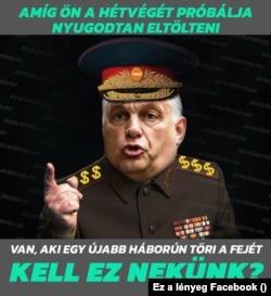 Orbán háborút akar az Ez a lényeg szerint