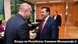 Румен Радев и Зоран Заев се срещат в Словения