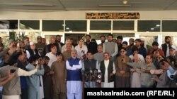 د بلوچستان عوامي پارټۍ خوابدې ډلې د خپل اعلا وزیر جام کمال خان د استعفا لپاره خبري غونډه وکړه: ۲۰۲۱، ۰۵ اکتوبر