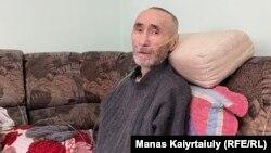 Диссидент ақын Арон Атабек. Алматы, 6 қазан 2021 жыл.