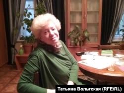 Ольга Старовойтова у себя дома