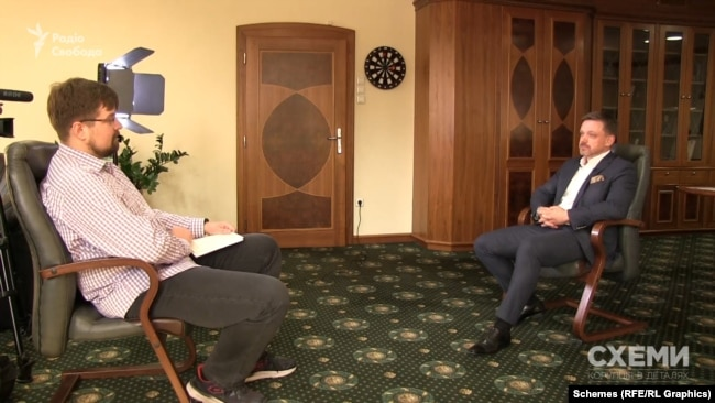 Журналіст Кирило Овсяний та Євген Мецгер