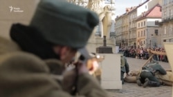 У Львові відтворили бій за Львів 99-річної давнини (відео)